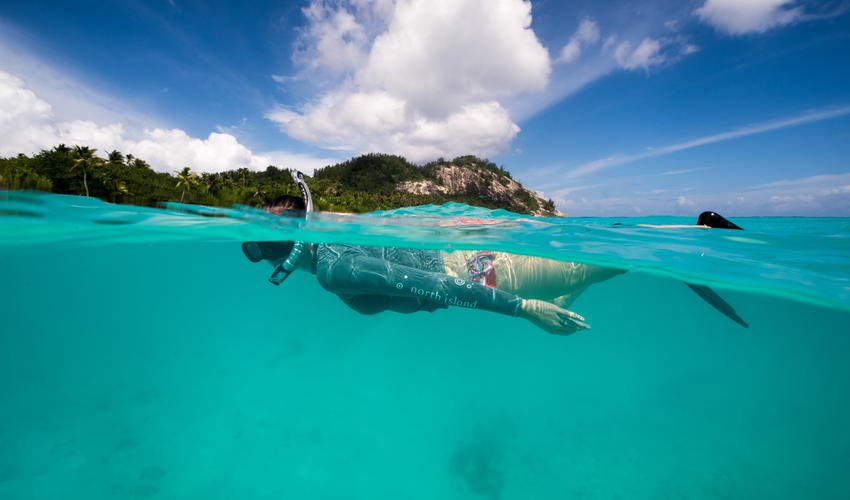 Island-style snorkelling