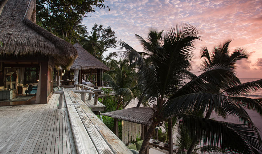 Villa North Island provides the perfect vantage point from which to watch the tropical sunrise