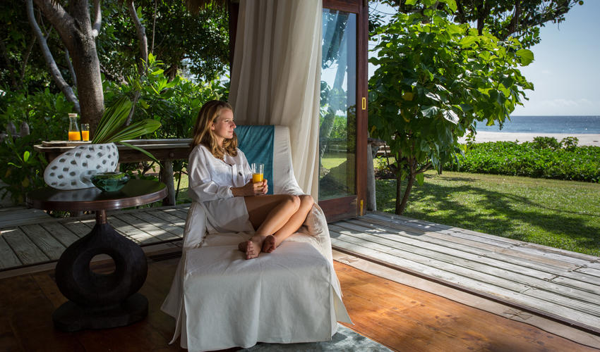 Each Presidential Villa provides many options for relaxation - all with a stunning view