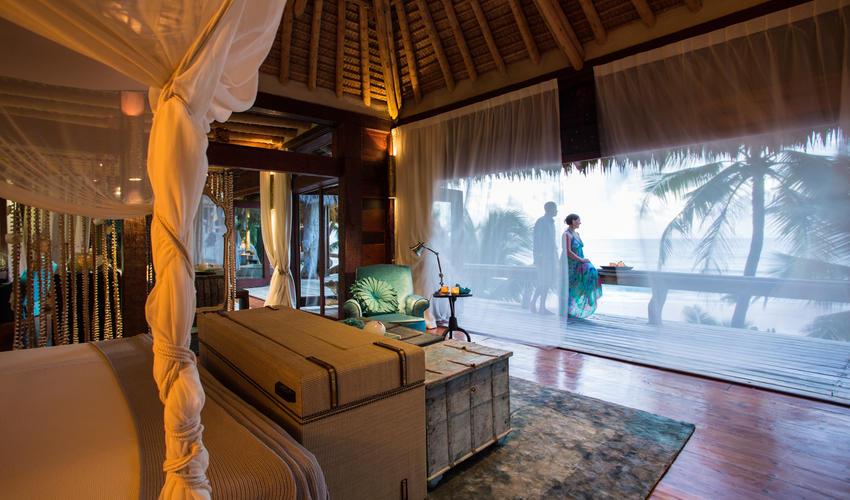Villa North Island interior following the latest softs & decor refurbishment