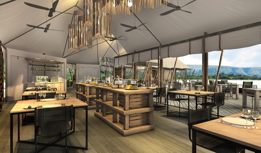 Artist's Impression | main dining area