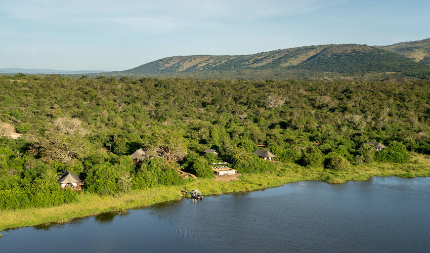 Magashi is situated in arguably the most scenic concession in Akagera National Park