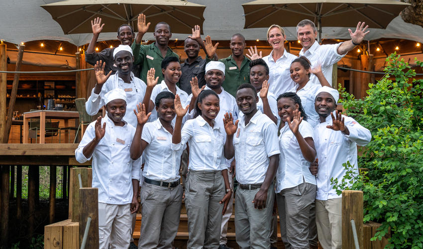 Many of Magashi's staff have inspirational stories of personal development through their employment with Wilderness Safaris
