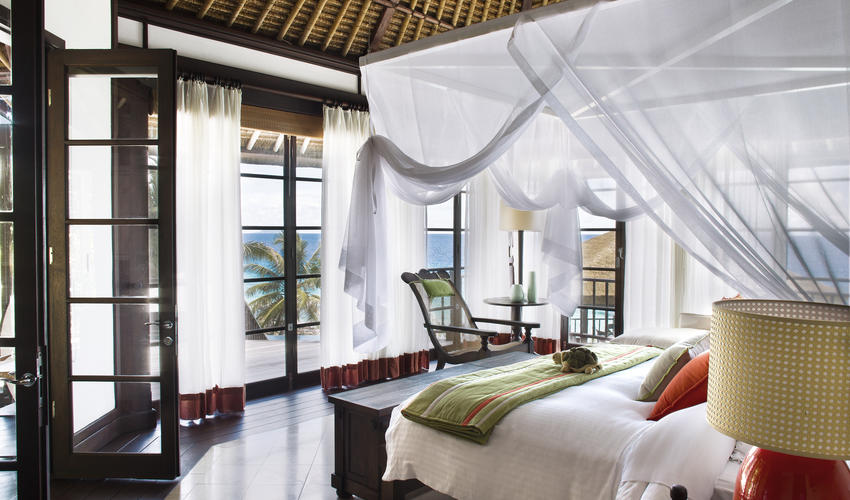Master Bedroom in the Private Pool Residences