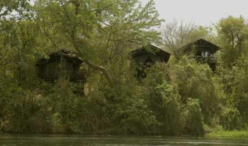The lodge from Nile River - a true Ugandan experience!