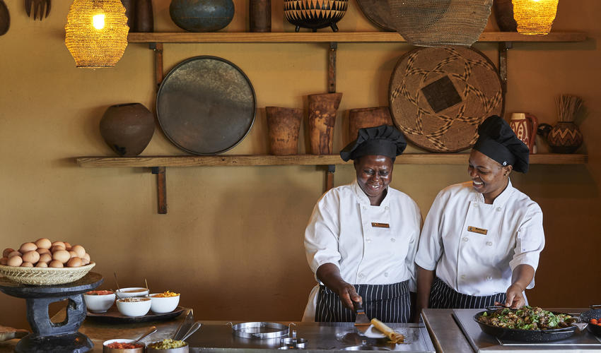 Motswari Private Game Reserve | Breakfast Boma