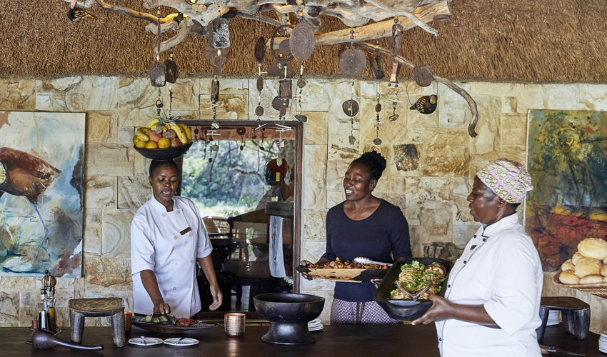 Motswari Private Game Reserve | High Tea
