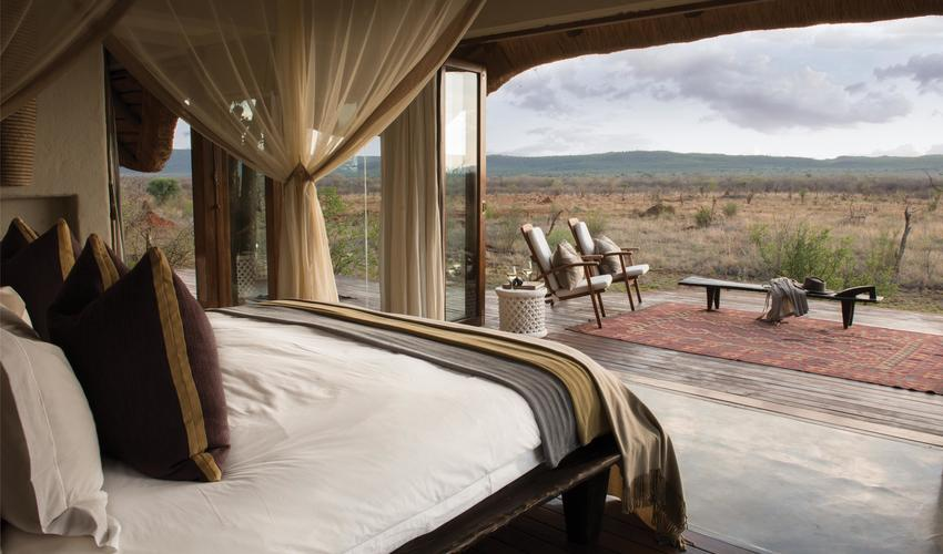 The ultra luxurious suites, each with a private plunge pool are ingeniously placed among the boulders to ensure complete privacy