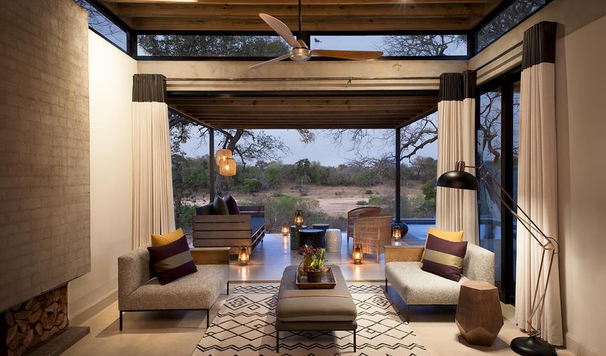 Ivory Lodge Villa living area view