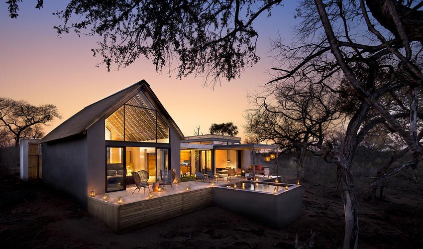 Lion Sands Ivory Lodge Villa Exterior