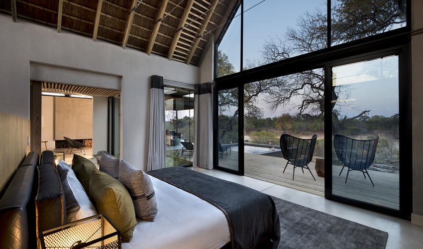 Ivory Lodge Villa bedroom view