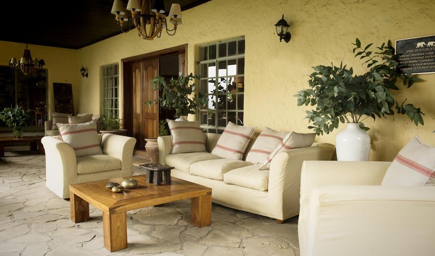 Main lodge verandah