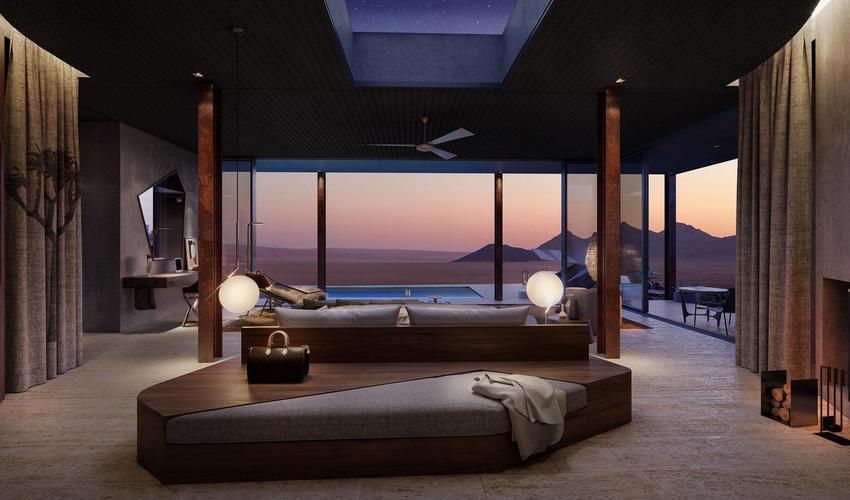 Suite interior Render