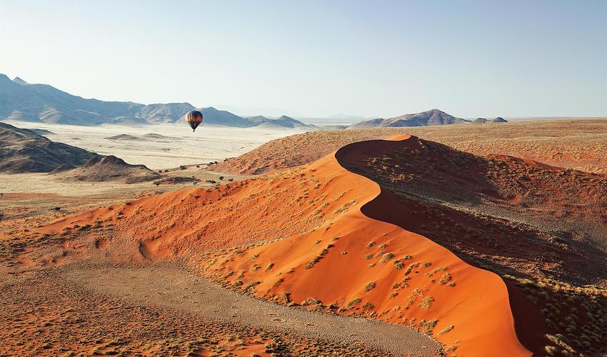 Hot air balloon flight - Sossusvlei