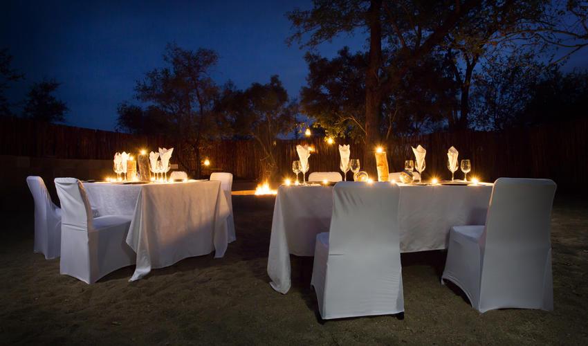 Boma Dinner at Arathusa