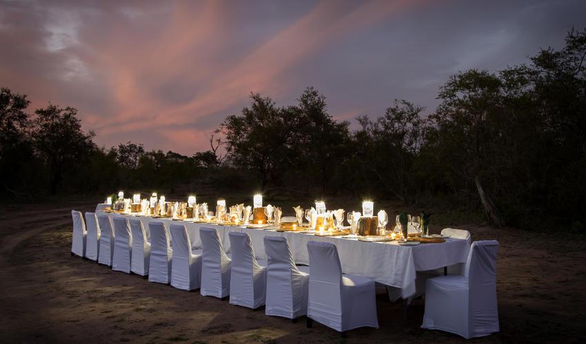 Bush Dinner at Arathusa