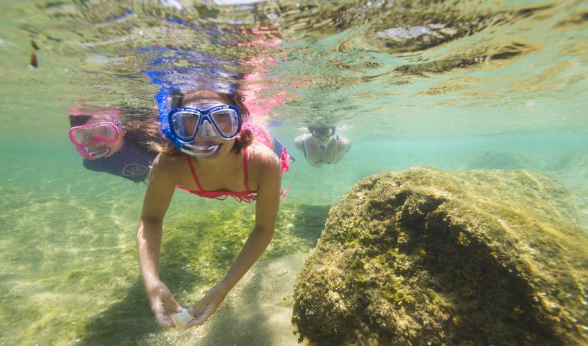Snorkeling at Lala Nek