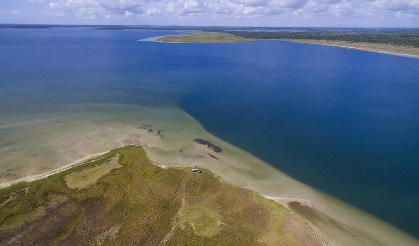 Lake Sibaya is southern Africa's largest freshwater lake
