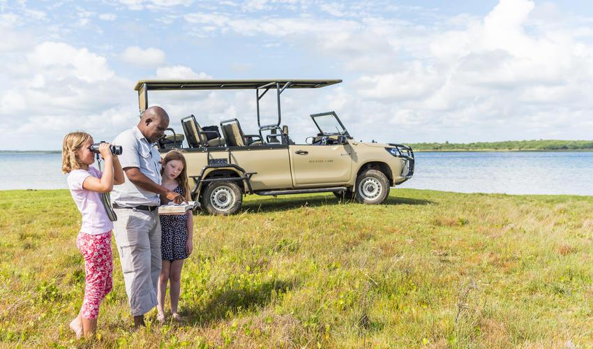 Birding at Lake Sibaya opens up a world of natural wonders