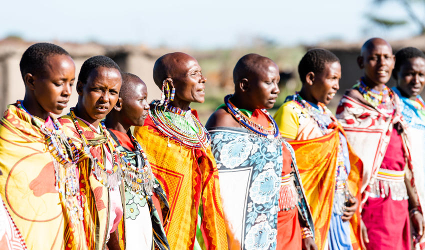 Masai Manyatta Visit
