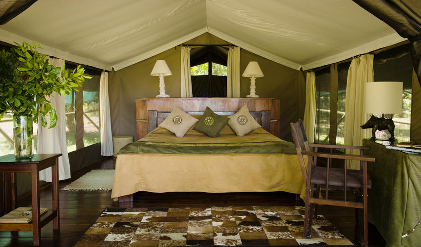 Guest tent Little Governors Camp