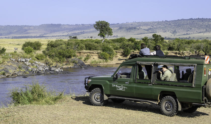 Game Drive from Little Governors Camp