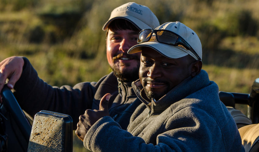 Specialist safaris are offered for an in depth, guided experience