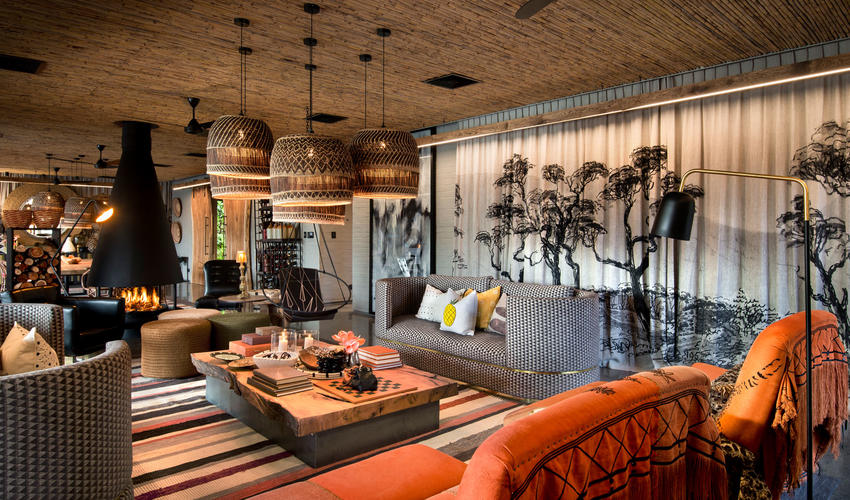 Guest area lounge