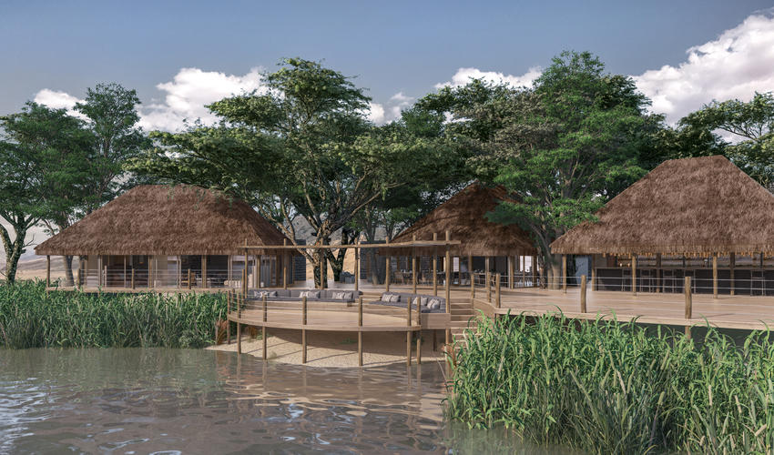Serra Cafema is undergoing a rebuild, to be completed by 1 September 2018 | Artist impression of the main area.