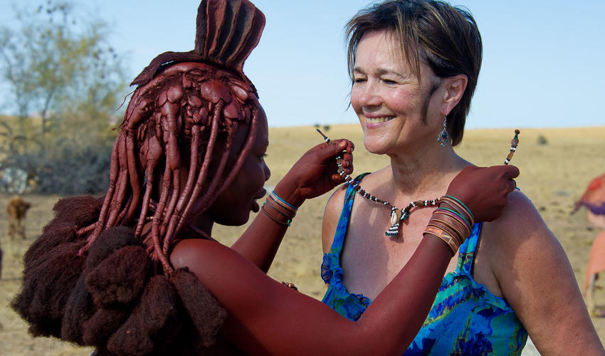 Cultural encounter with the local Himba