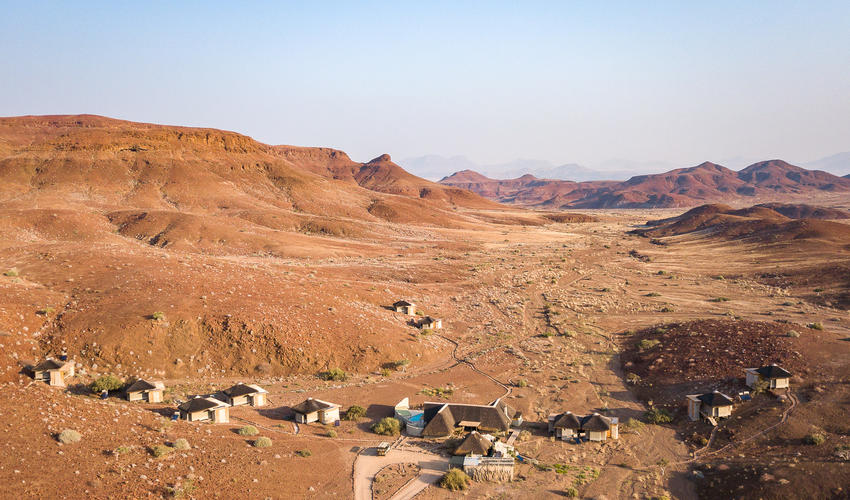 Dramatic Damaraland setting