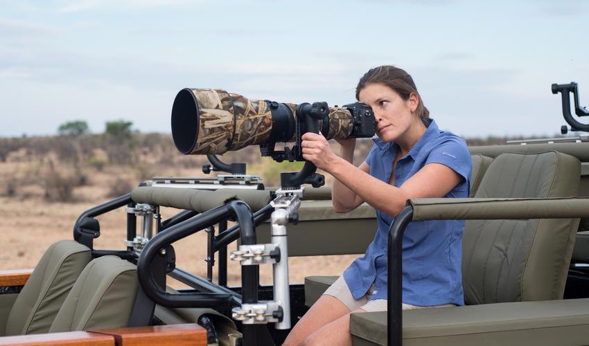 PhotoMashatu Photographic Vehicle