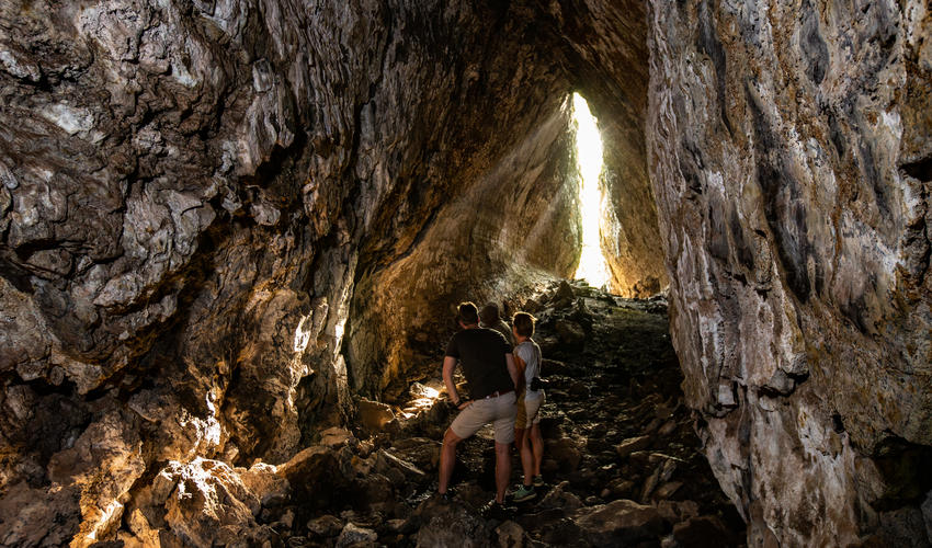 Exploring Lava Tubes in the Chyulu Hills