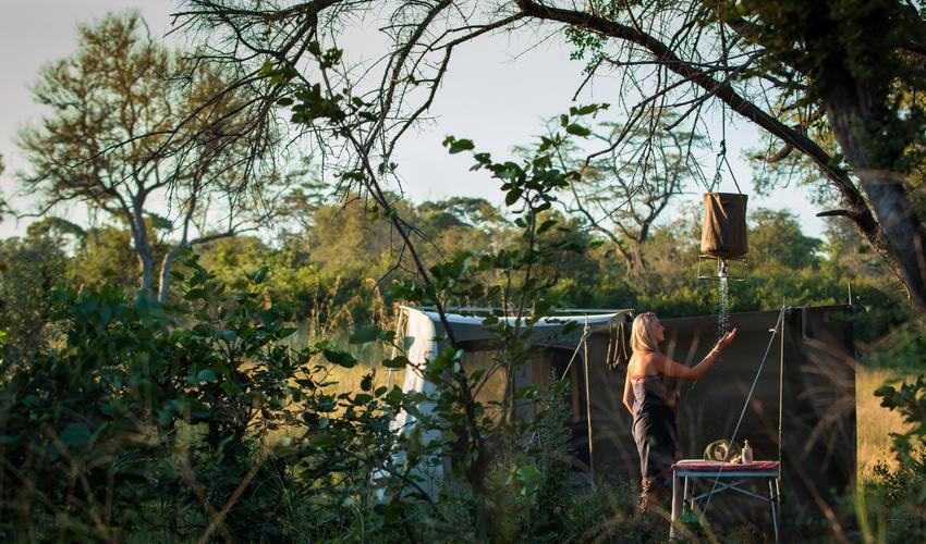 Selinda Adventure Trails Bucket Showers