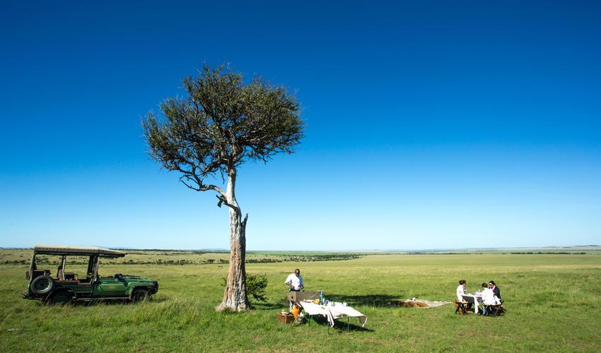 Mara Plains Bush Breakfast