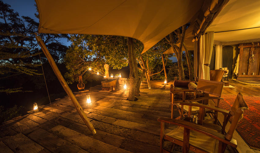 Mara Plains Tent Interior