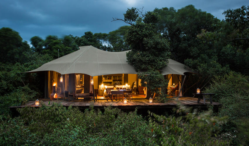 Mara Plains Tent Exterior View