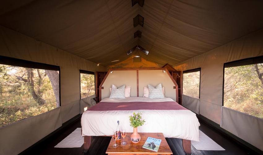 Motswiri Tented Room