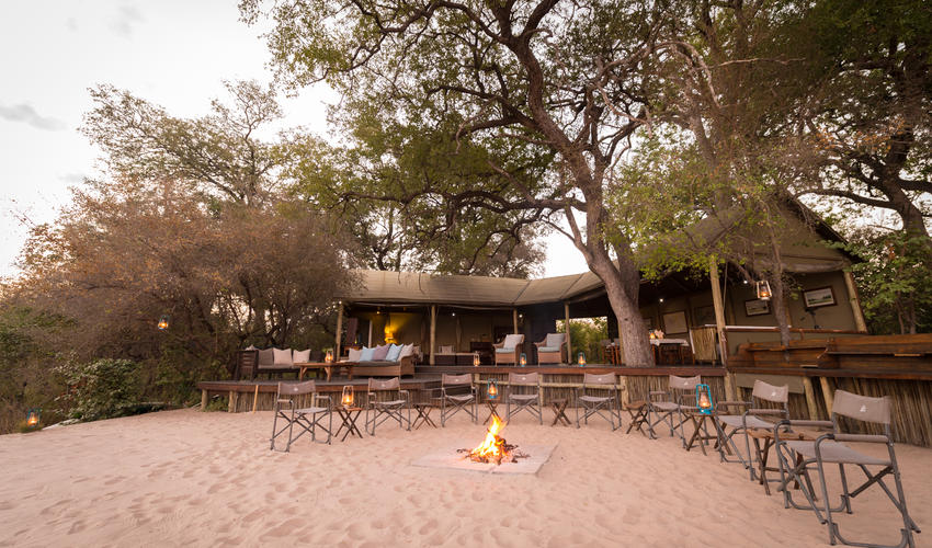 The Boma and Campfire Area