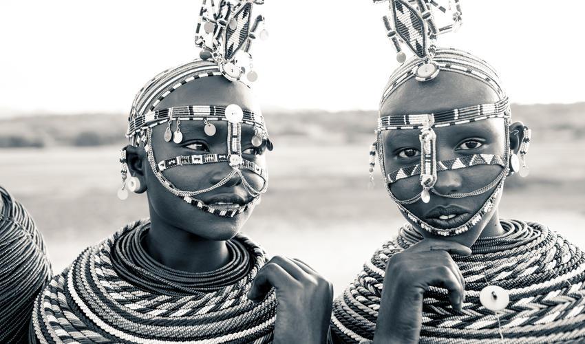 Samburu traditional dress