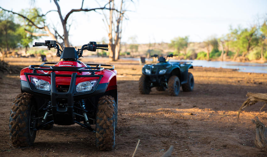 Quad Bikes at Sasaab