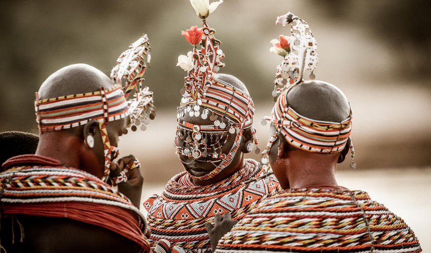 Authentic cultural experiences with the Samburu community
