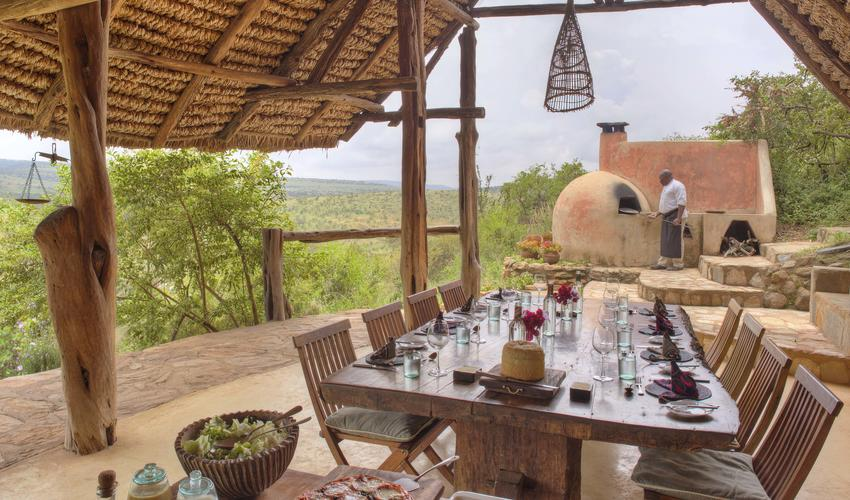 All food served at Borana Lodge is farm fresh and locally sourced