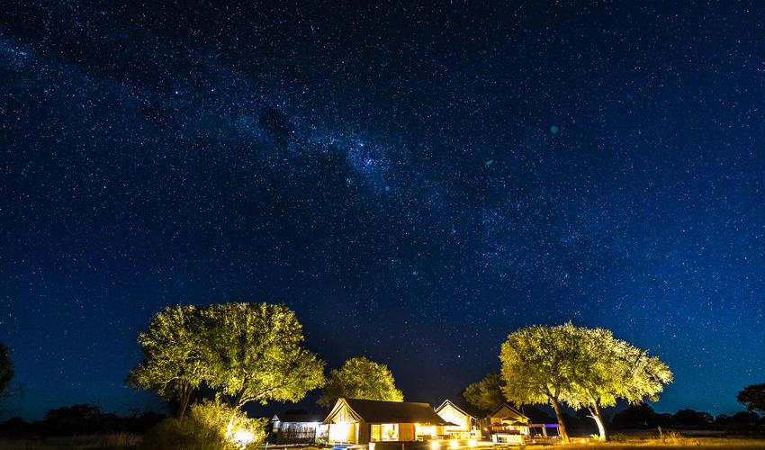 Linkwasha Camp under the stars
