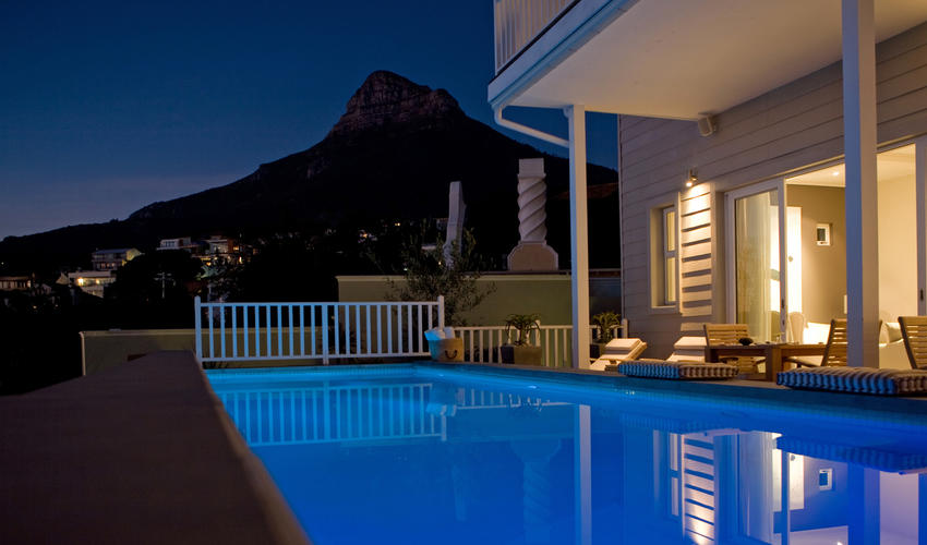 The Pool overlooking the