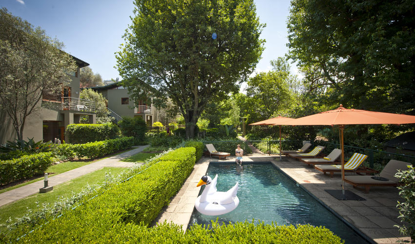 Smaller pool ideal for families