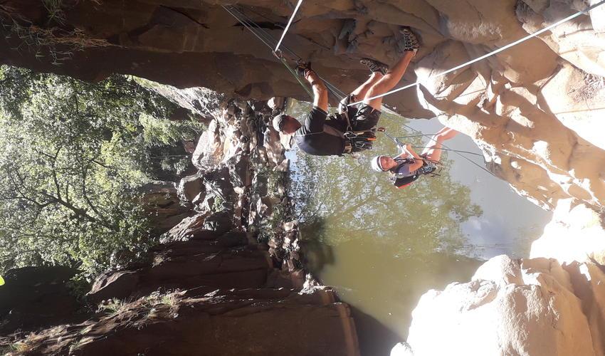 Canyoning in the Batoka Gorge