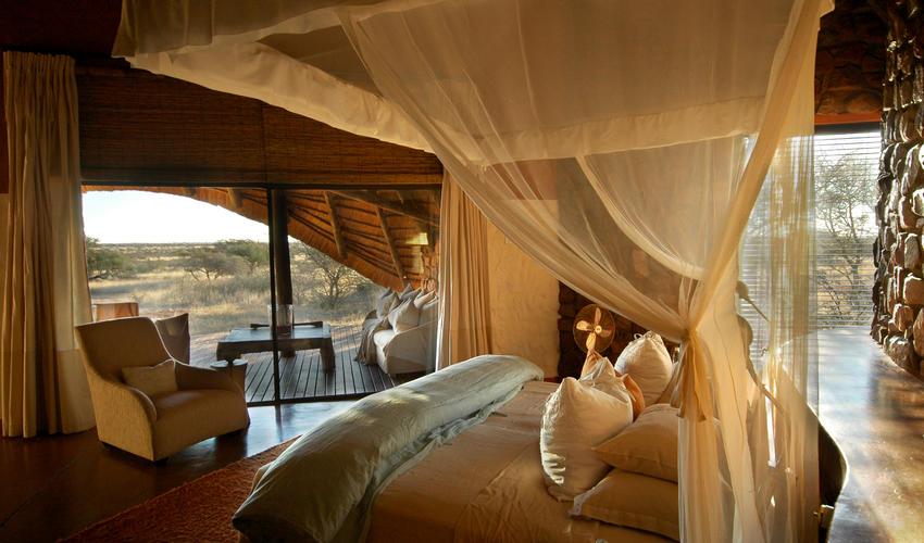 9 spacious suites