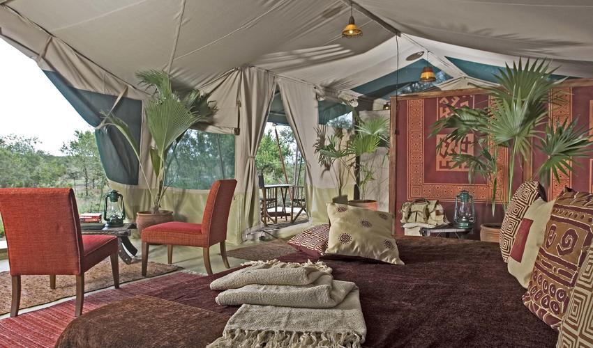 Kicheche Laikipia Spacious tent