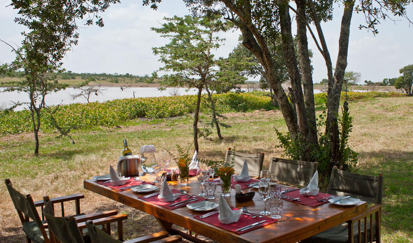 Kicheche Laikipia Lunch al Fresco
